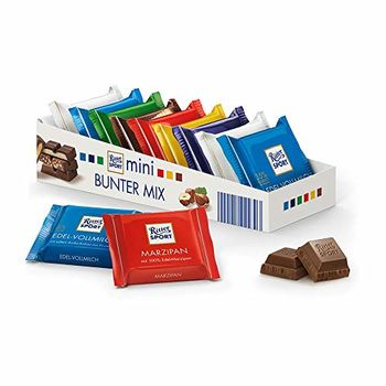 Ritter Sport Mini Chocolate Minis 9 Pcs Box - 5.3 Oz