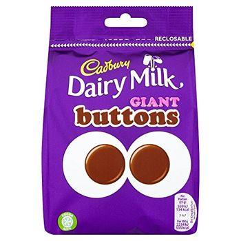 Cadbury Dairy Milk Giant Button Packet, 119g