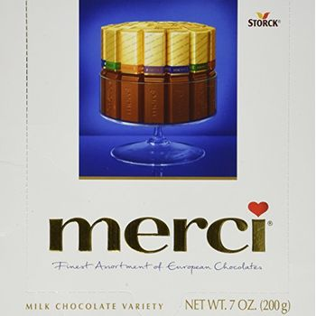 Merci Storck Finest Selection of Assorted Milk Chocolate Box (200 g)