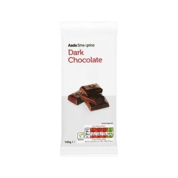 ASDA Smart Price Dark Chocolate Bar, 100g