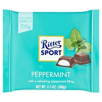 Ritter Sport Peppermint Chocolate, 100g