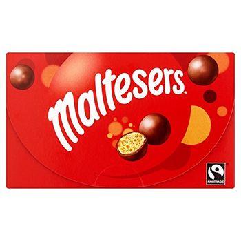 MALTESERS Crispy Malt Honeycombed Covered with Chocolate, 100g