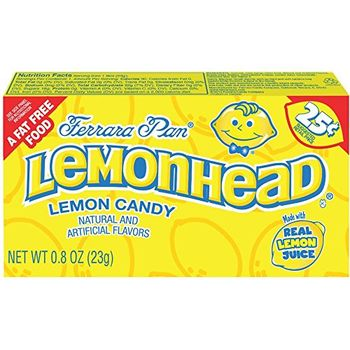 Lemonheads Hard Candy, 24 Count, 0.80 Oz