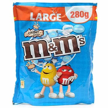M&M's Milk Chocolate Crispy Limited Edition, 280g