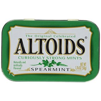 Altoids Curiously Strong Mints, Spearmint - 50g