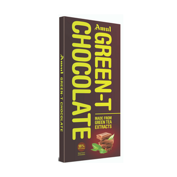 Amul Green-T Dark Chocolate Bars  (150 g)
