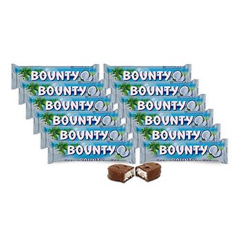 Bounty Chocolate Bar, 57g (Pack of 12)
