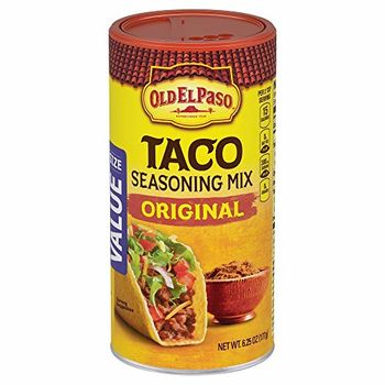 Old El Paso Taco Seasoning Mix Original Bottle, 177g