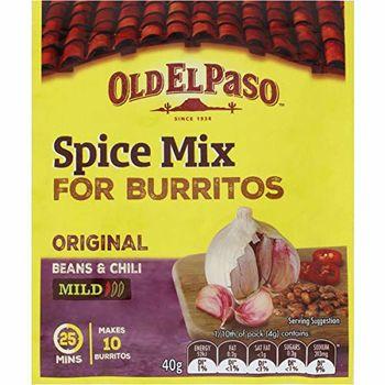Old El Paso Burrito Spice Mix, 40g