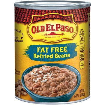 Old El Paso Refired Beans Fat Free 453g