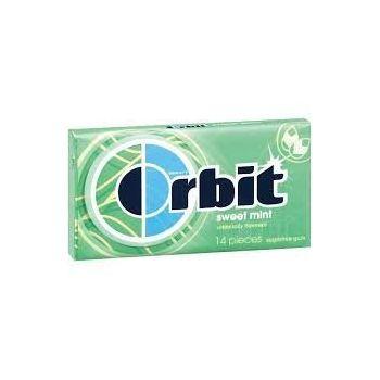 Wrigley's Orbit Sweet Mint Sugar-free Chewing Gum (14 Sticks) - Pack of 2