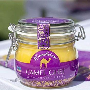 CAMELICIOUS Camel GHEE with Arabic Herbs 400G(Glass Bottle)