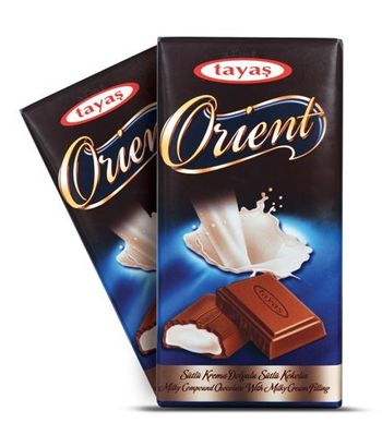 ChocoKick Tayas Orient Milk Chocolate 80gms