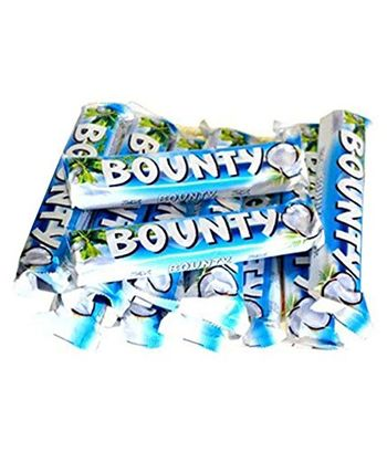 Pack Of 12 Coconut Filled Bounty Chocolates (Expiry October 2020)