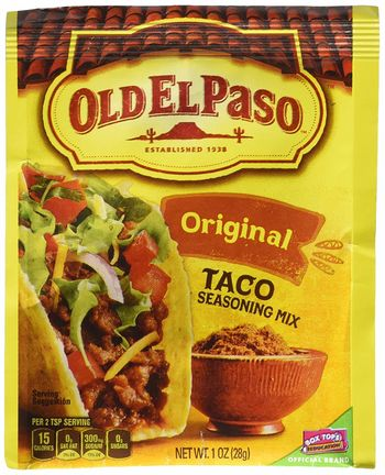 Old El Paso Taco Seasoning Mix Original 28g