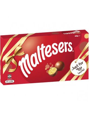 Maltesers Milk Chocolate Gift Box 400g (Expiry month October 2020)