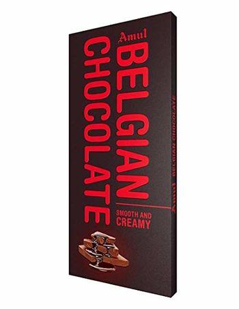 Amul Belgian Smooth N Creamy Chocolate Bars  (150 g)