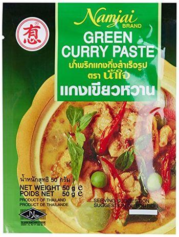 Namjai Green Curry Paste, 50g