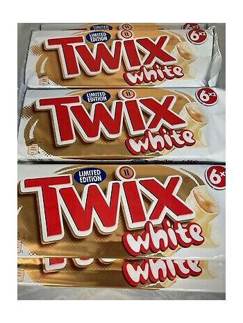Mars Twix White Chocolate Bar 46 g - Pack of 3
