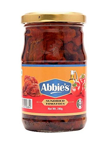 Abbie's Sundried Tomatoes, 280g, Product of Italy (Set of 1)