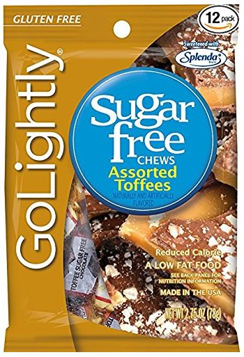 GoLightly Assorted Toffees Sweetened with Splenda Gummies 78 gm