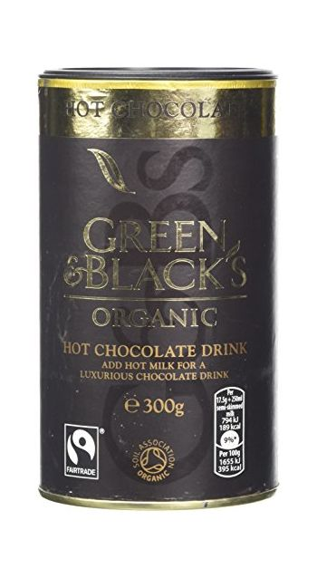Green & Black's Organic Hot Chocolate Drink, 300g